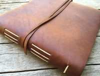 Leather Album Journal - Big Idea - Engravable