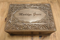 Personalized Laser Engraved Jewellery Box