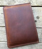 iPad Mini Leather Sleeve - Saddle