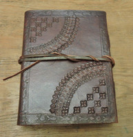 Old World Journal - tooled - embossed back cover