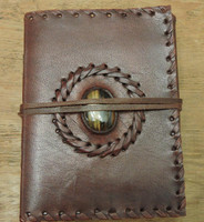 "Phasha Leather Journal Small Q - 6"" x 4"""