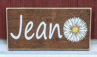 personalized gift wood name sign