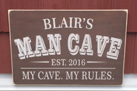 Man Cave Sign - unique gift