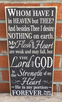 Psalm 73 Sign