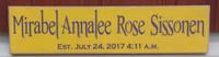 Custom Name Sign for Kids