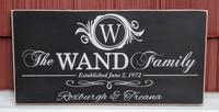 Farmhouse Family Sign