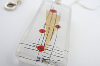 Momo Glassworks Poppy Perspectives Pendant