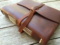 Leather Journal - Side View