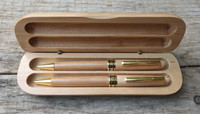 Maple pen and pencil set