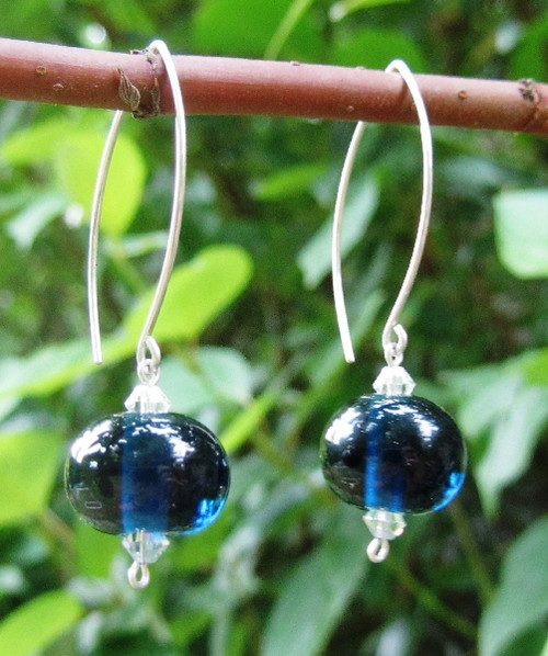 treat designs raku earrings