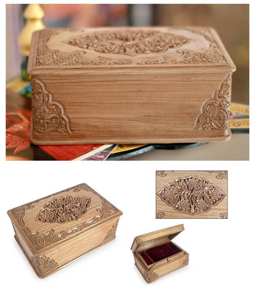 """Handcrafted Jewelry Box - """"Faithfully Yours"""""""