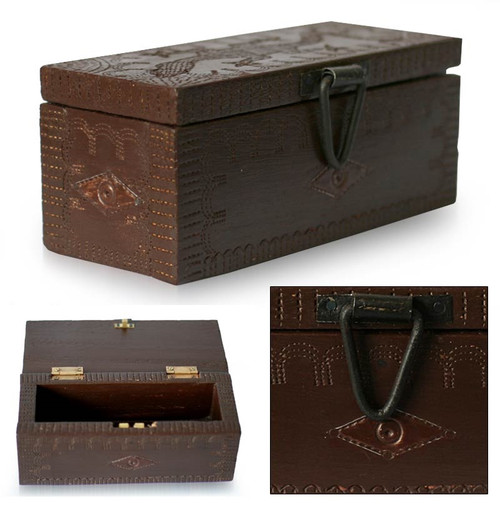 Hand crafted Gecko Box