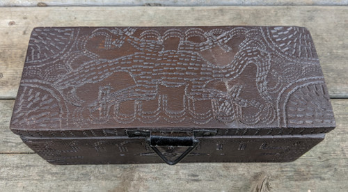Top of Gecko Box