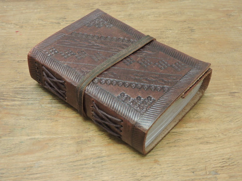 extra small journal old world style