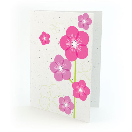 flower seed card