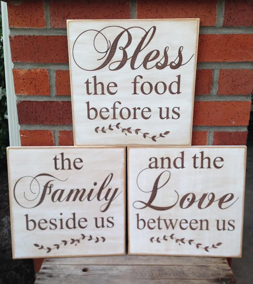 Custom Rustic Wood Signs Farmhouse Signs Scripture
