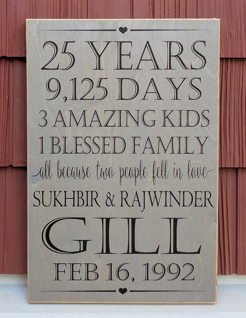 Handmade Personalized Family//Business Plaque//Sign//Solid Oak// Laser Engraved