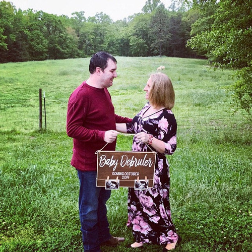 baby ultrasound personalized sign