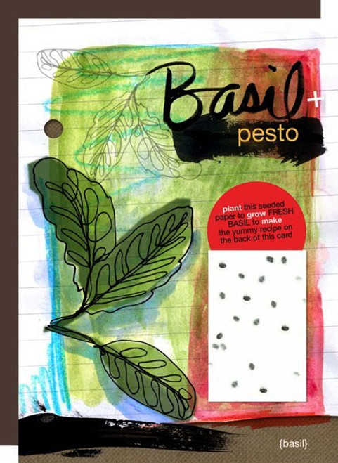 Basil Yummy Card