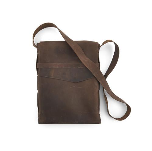 Leather Satchel - Explorer by Rustico - Dark Brown