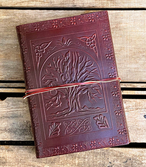 Tree of Life Celtic Leather Journal