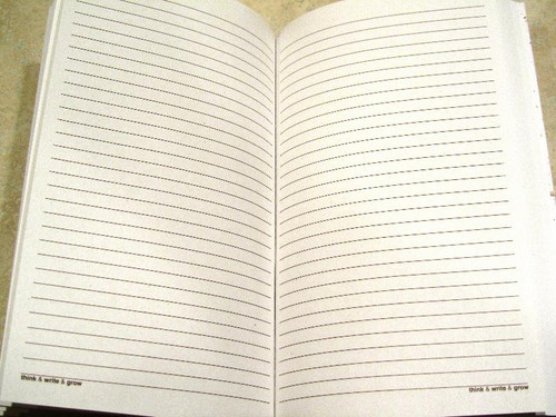 Plantable Seed Paper Lined Journal - Green Leaf