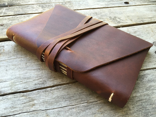 Rustico Messenger Leather Journal