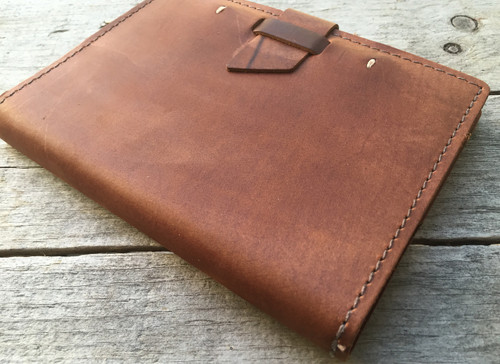 Leather Journal with Lined Refillable Paper - Wasatch