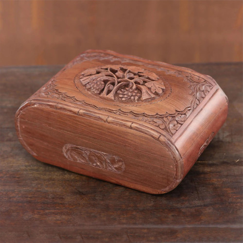 """Wooden Jewellery Box """"Together Forever"""""""