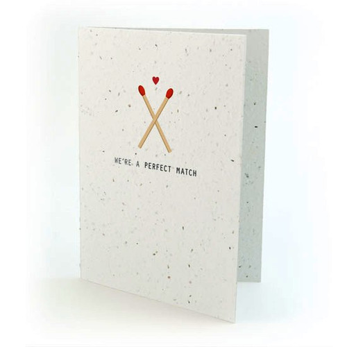 seed card - we make a perfect pair