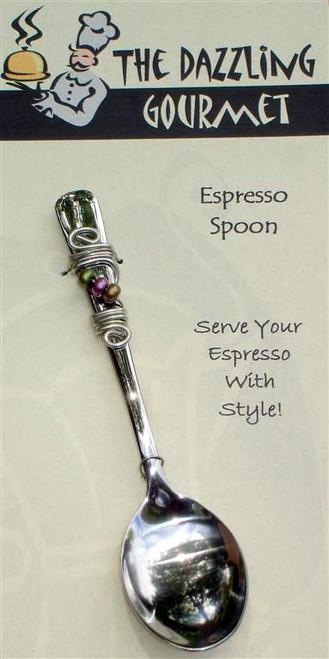 Beaded Espresso Spoon