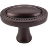Top Knobs - Oval Rope Knob  - Oil Rubbed Bronze (TKM751)