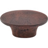 Top Knobs - Oval Knob    In Patina Rouge (TKM1234)