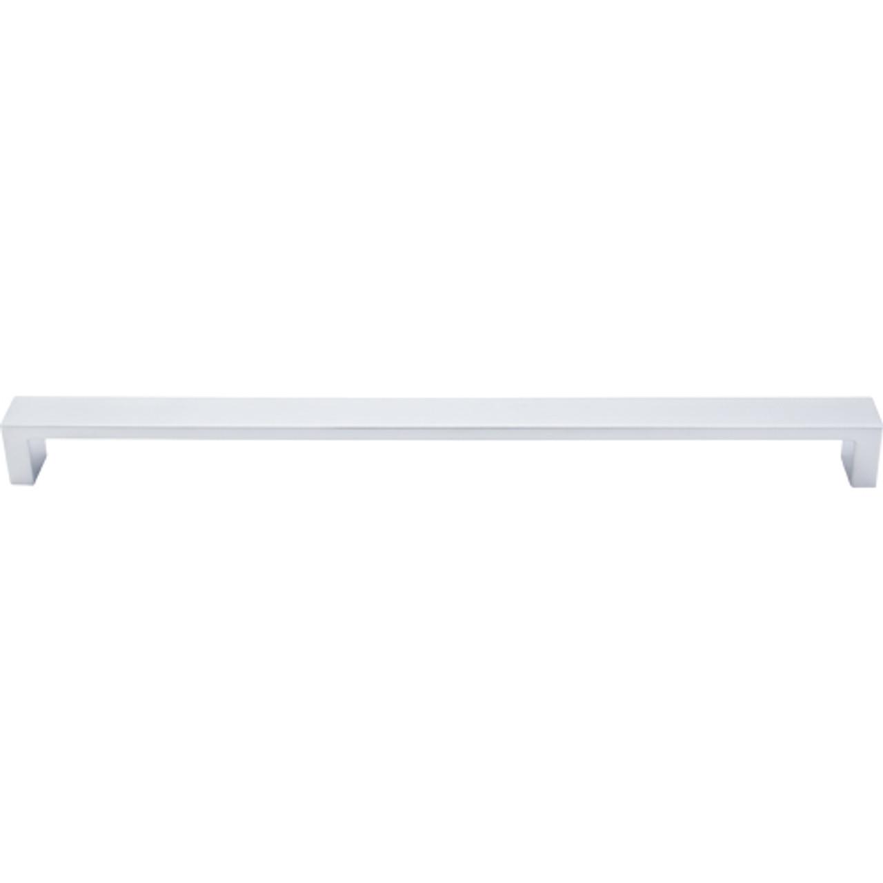 "Top Knobs - Modern Metro Pull 12"" (c-c) - Aluminum (TKTK253ALU)"