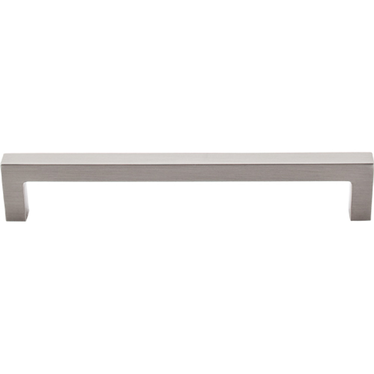 Top Knobs - Square Bar Pull    - Brushed Satin Nickel (TKM1155)