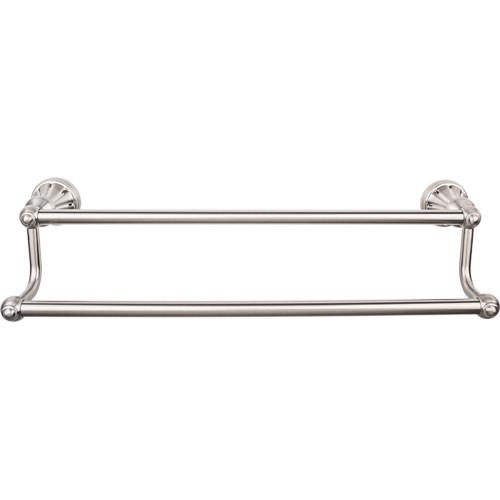 Top Knobs - Bath Double Towel Rod - Brushed Satin Nickel (TKHUD9BSN)