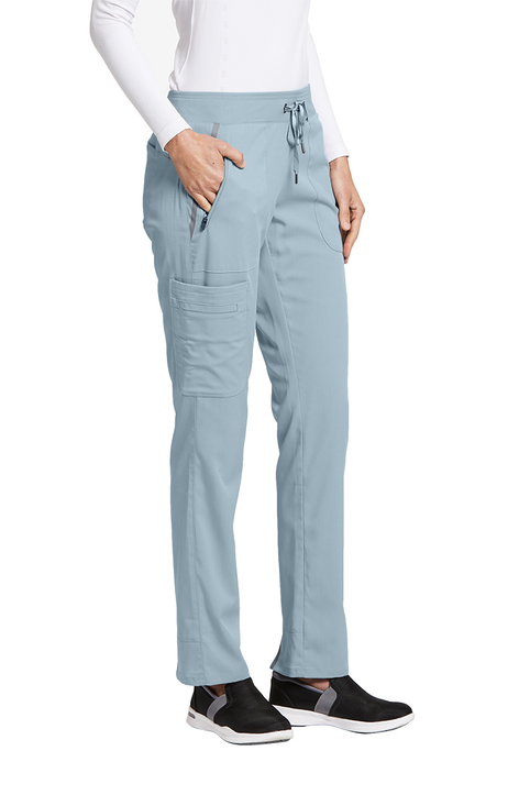 Grey/'s Anatomy Scrub Pant Bottoms 2218 Chateau Rose 6 Pocket Cargo
