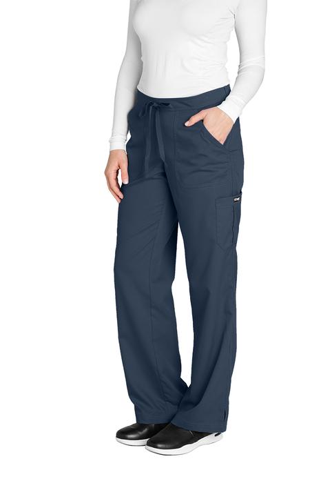 (4245P) Grey's Anatomy Junior 5 Pocket Drawstring Pant (Petite)