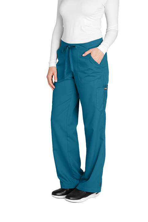 (4245T) Grey's Anatomy Junior 5 Pocket Drawstring Pant (Tall)