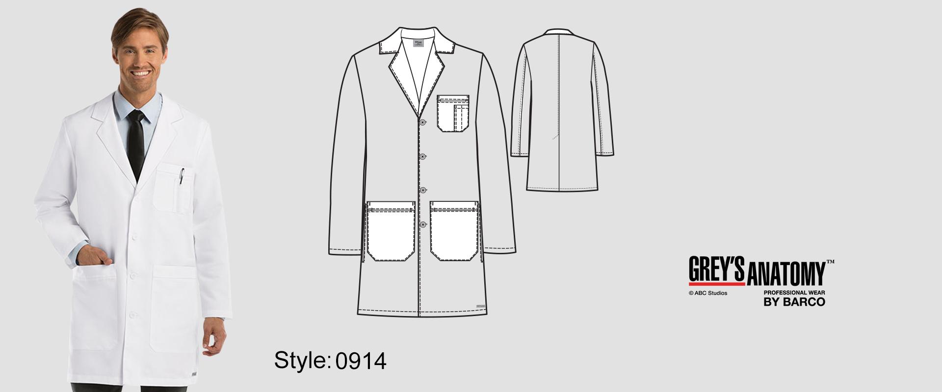 (0914) Lab Coat