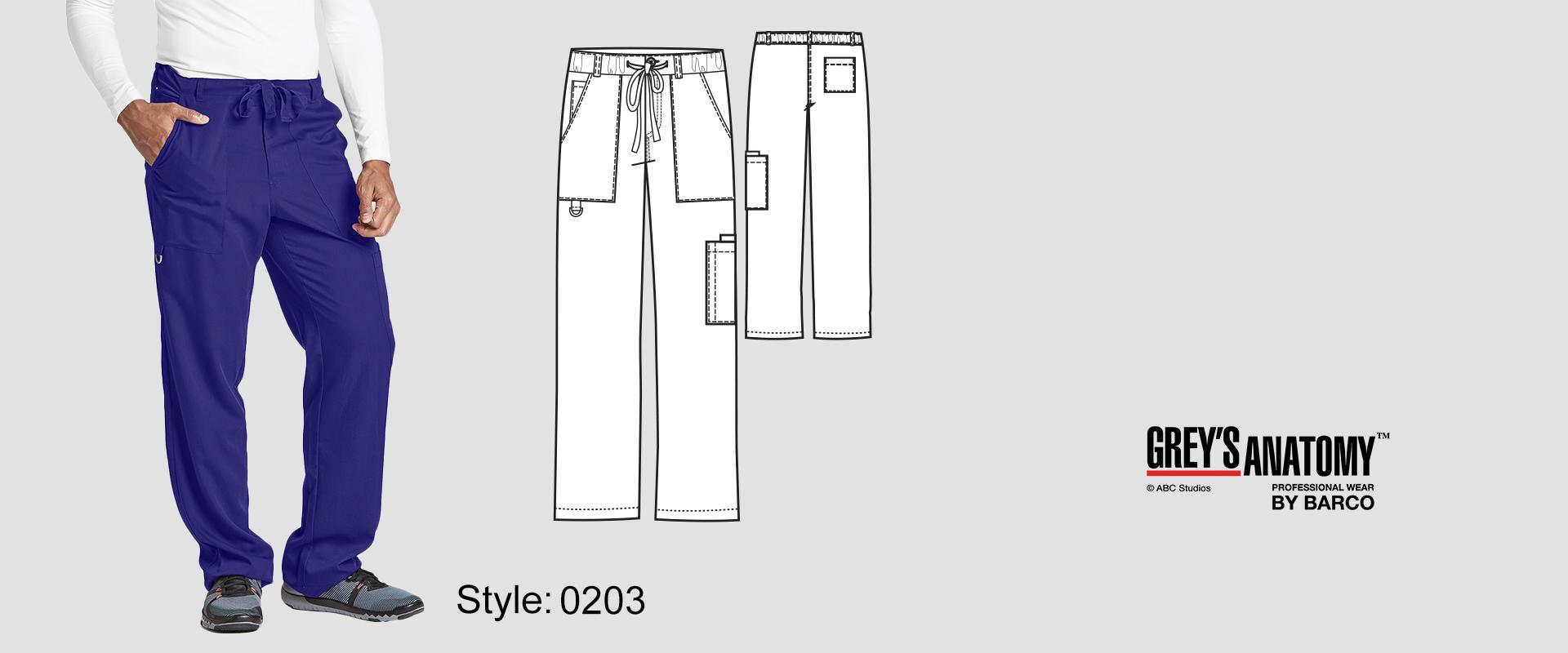 (0203) Scrub Pant