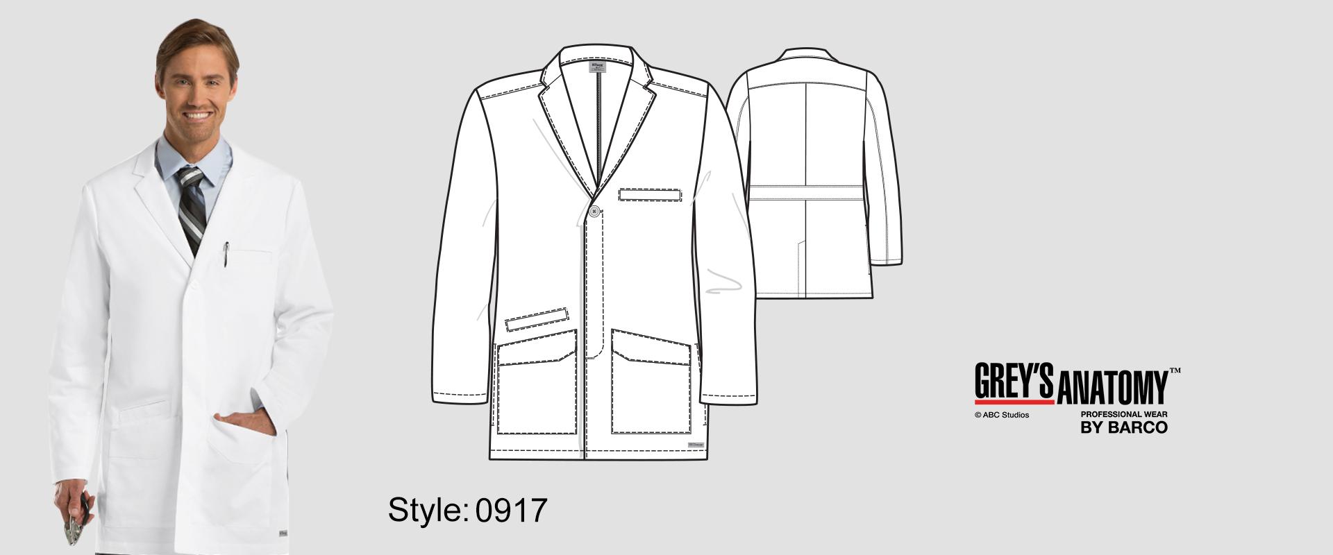 (0917) Lab Coat