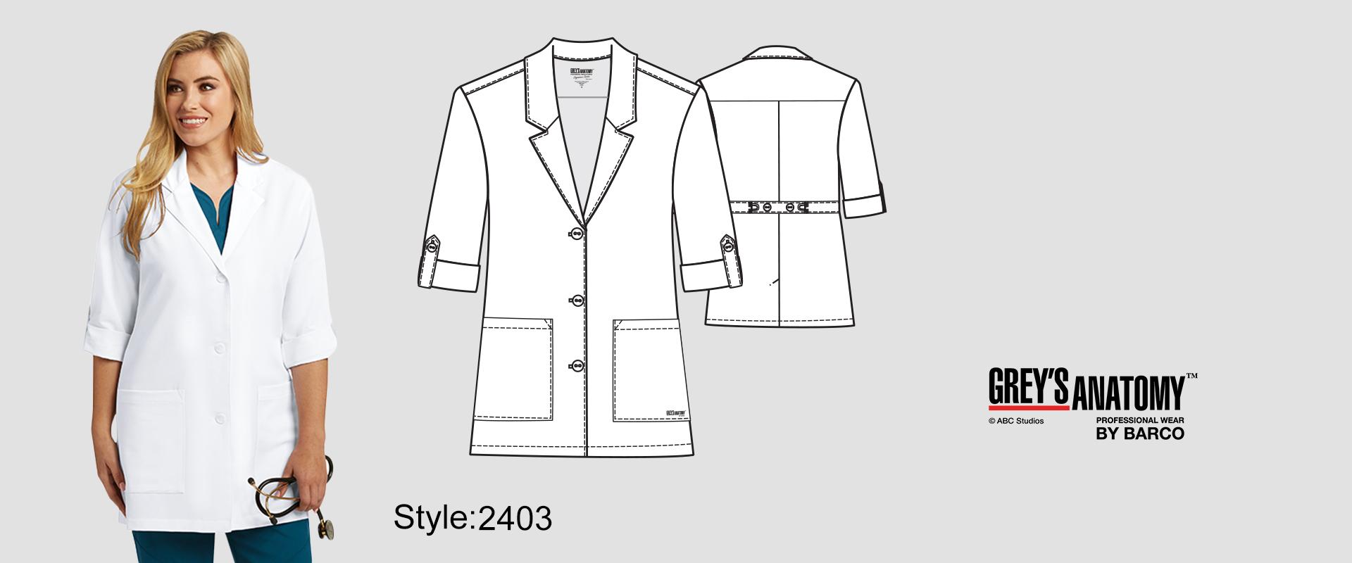 (2403) Lab Coat