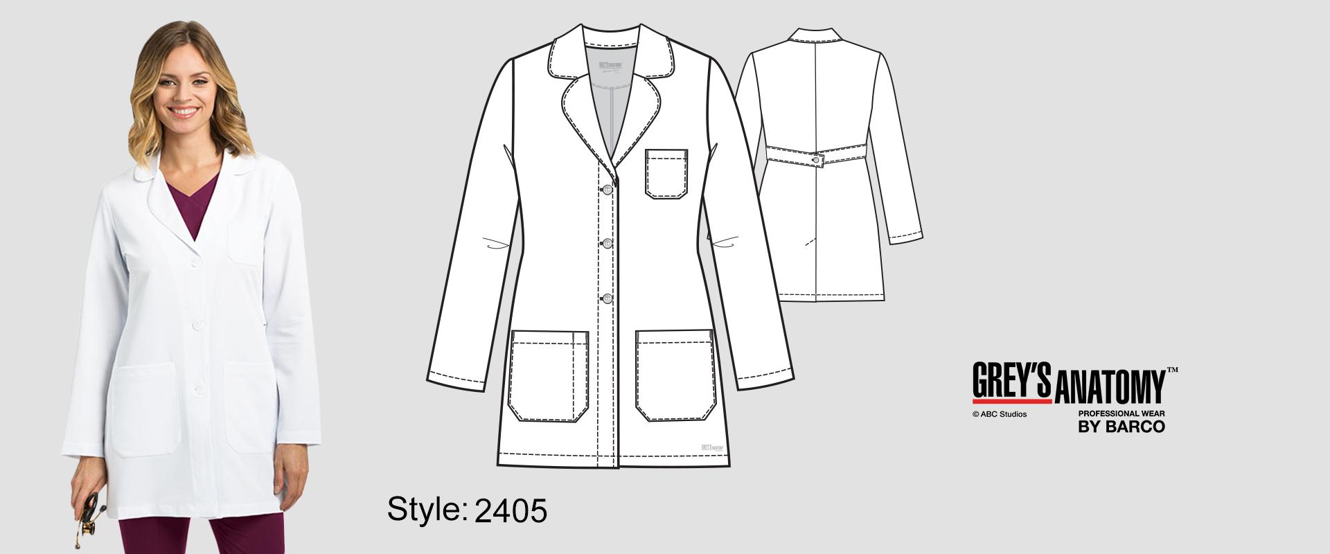 (2405) Lab Coat