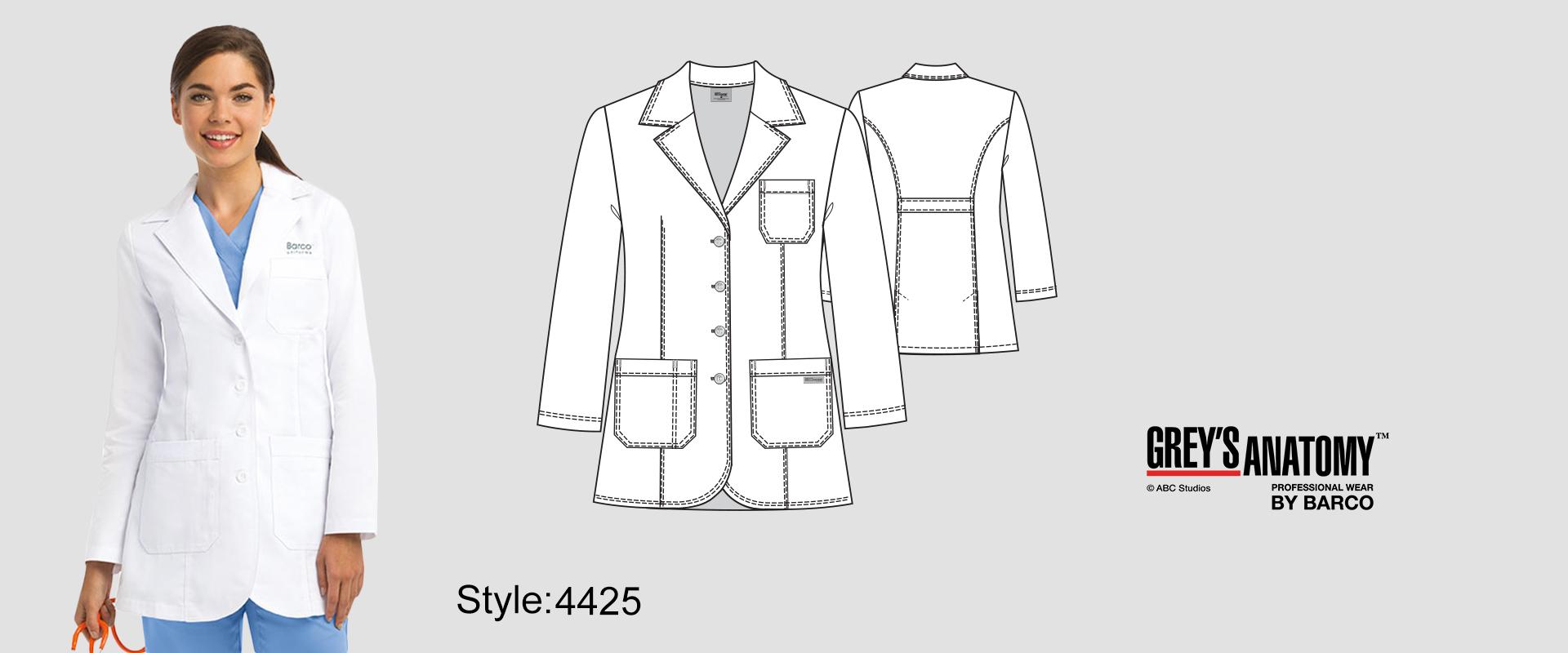 (4425) Lab Coat