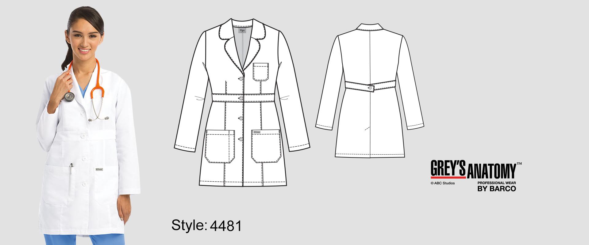 (4481) Lab Coat