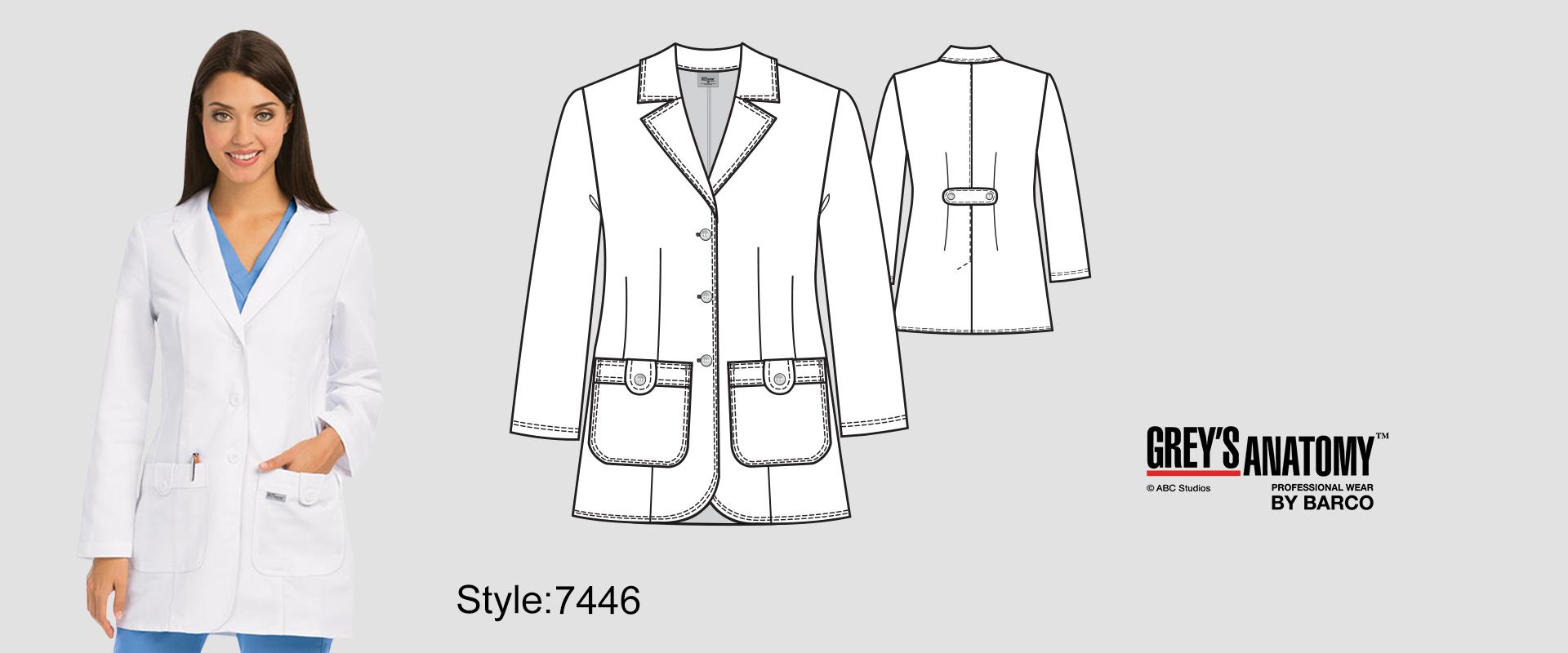 7446) Lab Coat