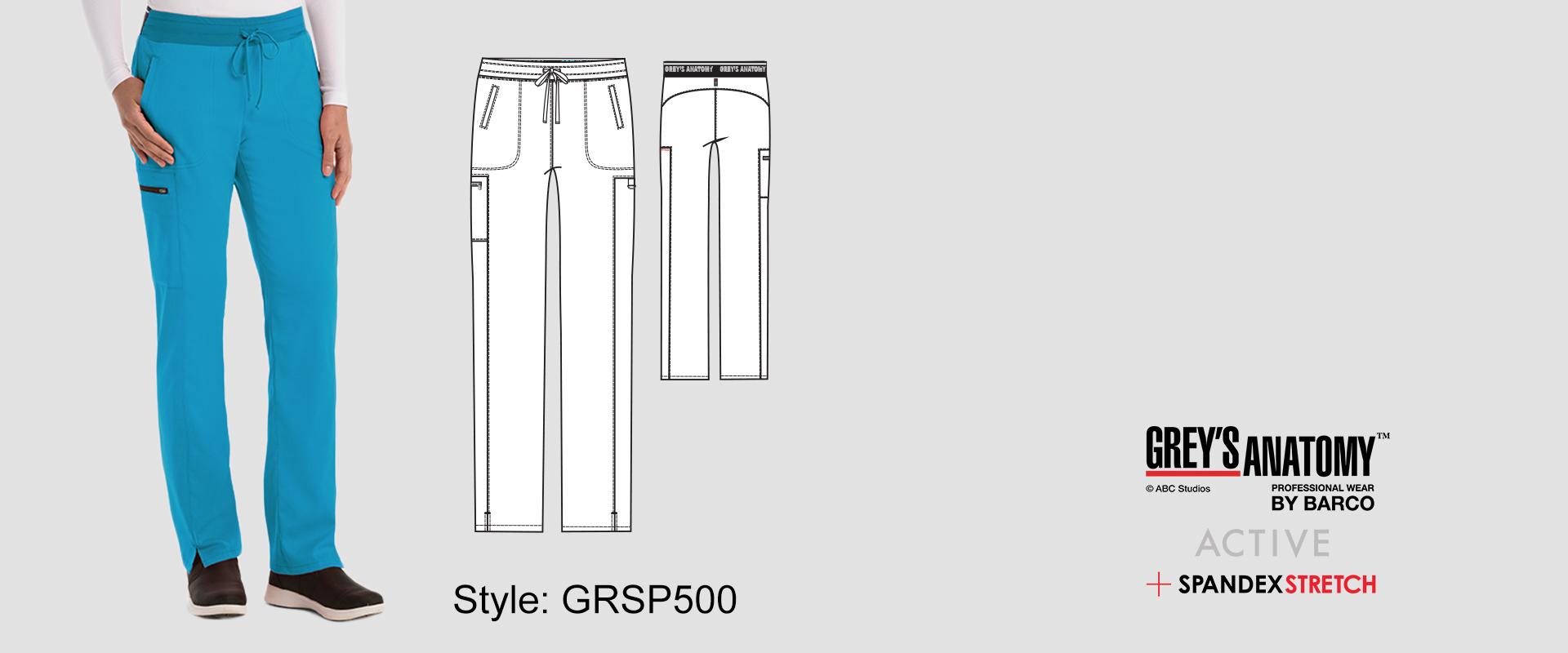 (GRSP500) Scrub Pants