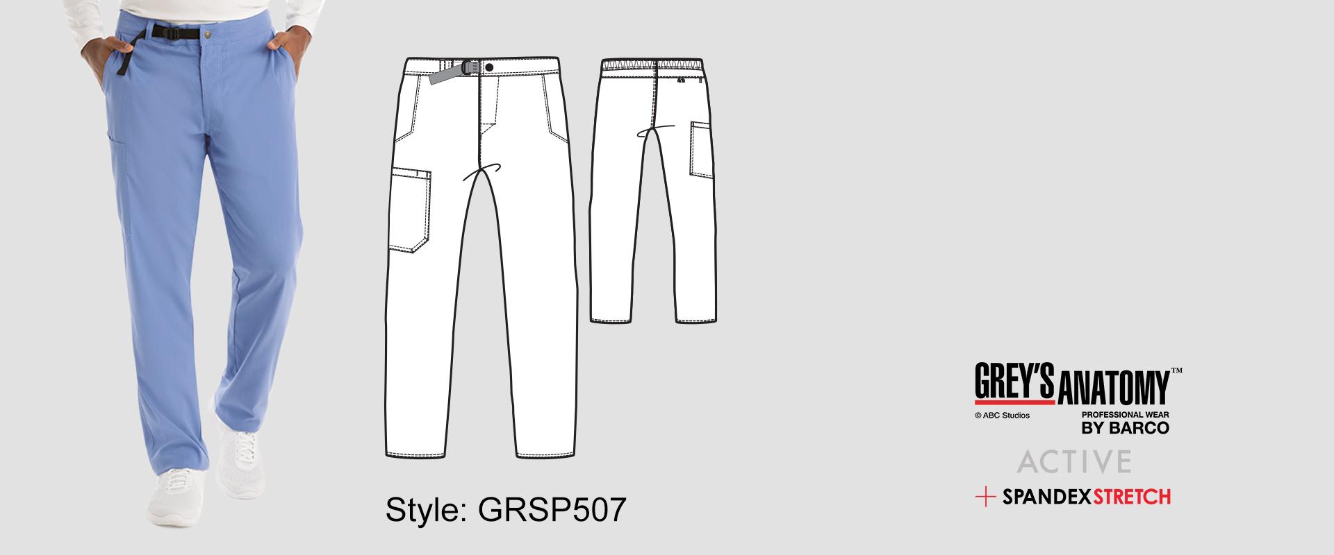 (GRSP507) Scrub Pants