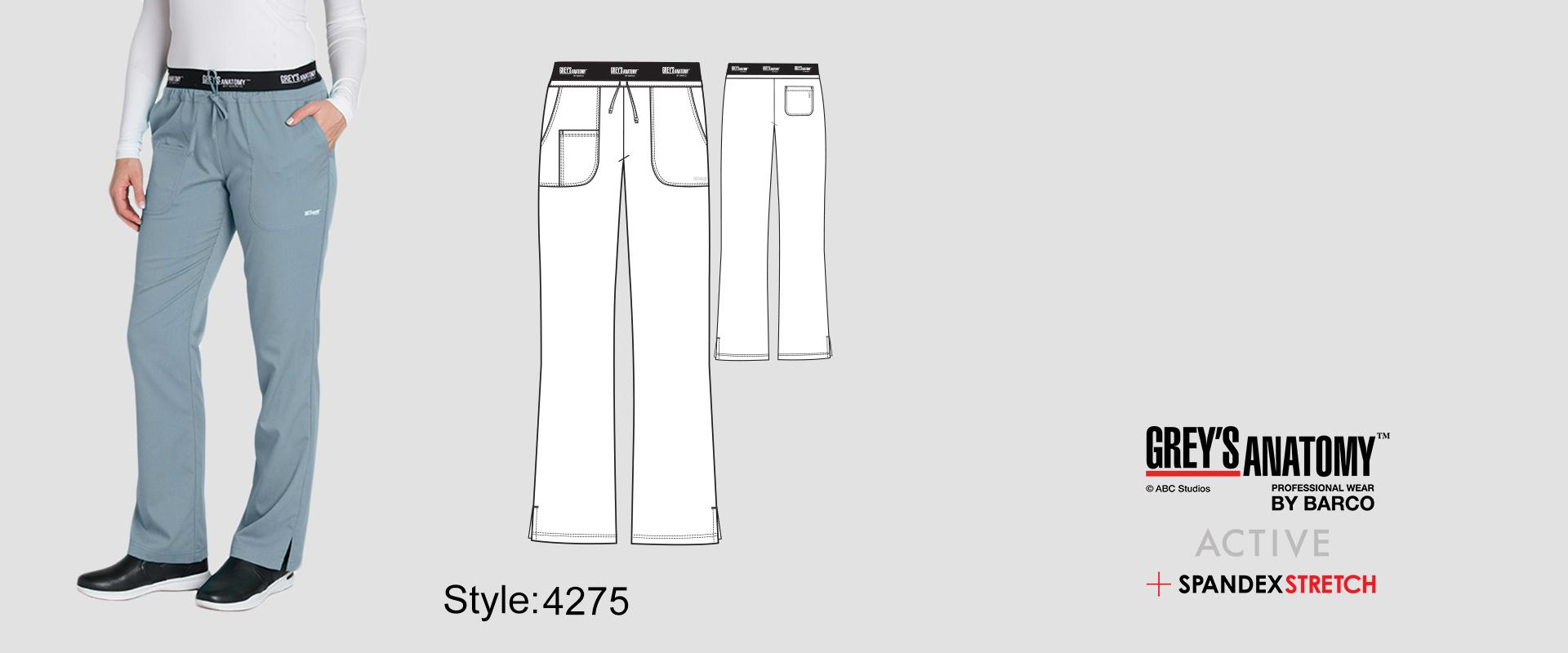 (4275) Scrub Pants